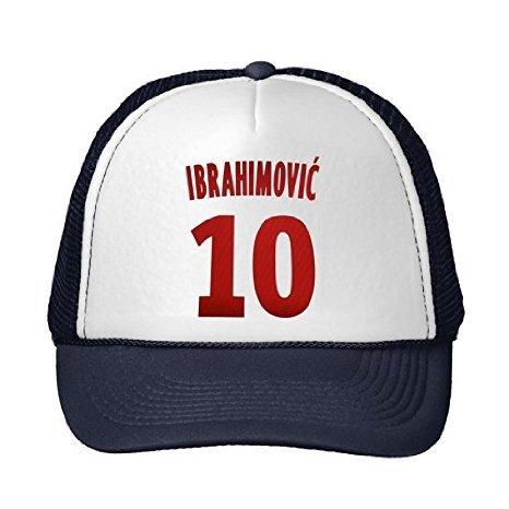 New Fashion Ibrahimovic 10Verstellbarer Sommer Snapback Cap Hüte Hut Baumwolle...