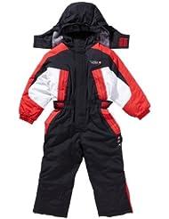 X Trem Rider - traje de esquiar niños 3/8 años EPLEM-negro/rojo-5 años