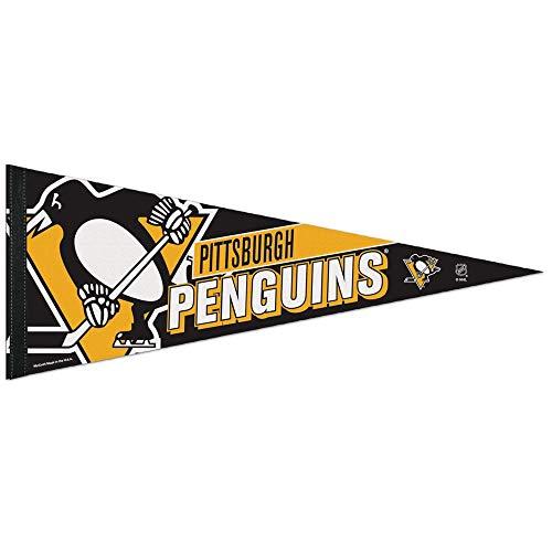 NHL Premium Wimpel 75x30 cm Pittsburgh Penguins