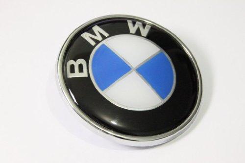 BMW Blau Weiß 82mm 8,2cm Hood Front Emblem Logo selbstklebend (Bmw Front-emblem-aufkleber)