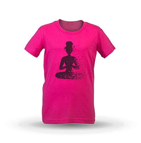 1cca51f3232 KrisTalas Camiseta de Las niñas Om Clothing Yoga Clothing Meditation Shirt  Spiritual Art Mandala Chakras Lotus