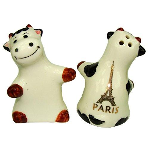 Souvenirs de France - Salière et Poivrière Tour Eiffel - Blanc
