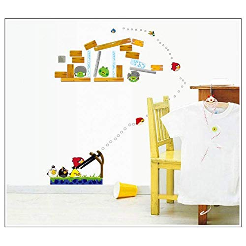 Liebe Vogel Kostüm - SJXWOL Wandaufkleber Kawaii Vögel Cartoon Wandaufkleber Steuern Dekor Für Tapeten Aufkleber Kostüm Kinderzimmer Schlafzimmer Wandkunst