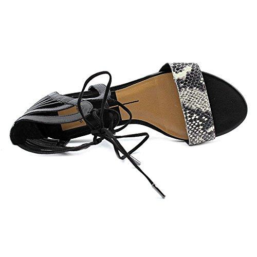 Dolce Vita Addison Damen Kunstleder Gladiator Sandale Black Multi