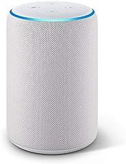 Echo Plus (2. Gen.), Zertifiziert und generalüberholt, mit Premiumklang und integriertem Smart Home-Hub, Sands