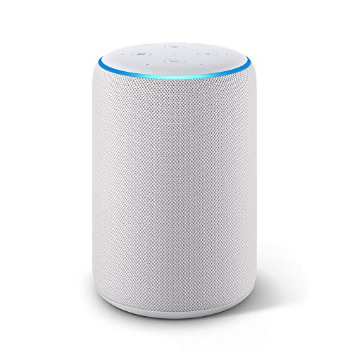 All-new Echo Plus (2nd Gen) – Premium sound with a built-in smart home hub - Sandstone Fabric
