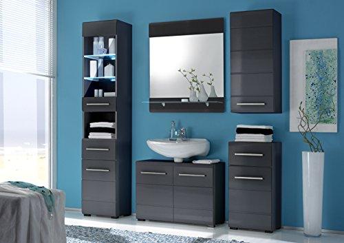 Hochschrank grau bestseller shop f r m bel und einrichtungen for Hochschrank schlafzimmer
