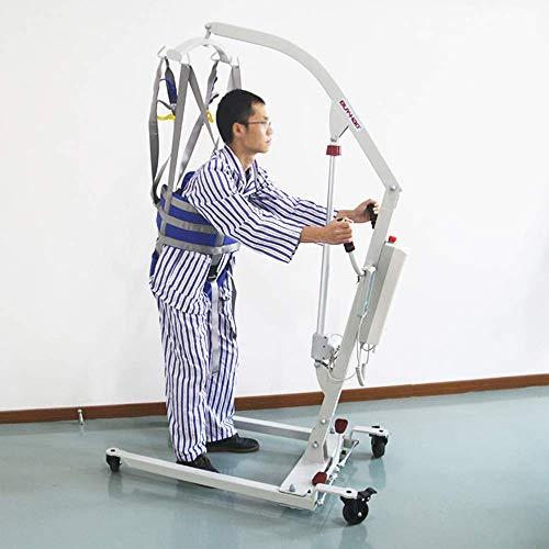 419BxRN6oAL - ZIHAOH Cabestrillo De Elevación De Paciente De Cuerpo Completo,cinturón De Transferencia Médica De Elevación para Personas Mayores Discapacitados, Cinturón para Caminar Asistido por El Paciente