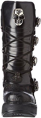 Motardes Femme S1 Rock New M Bottes Noir 8366 Black qH6X7w