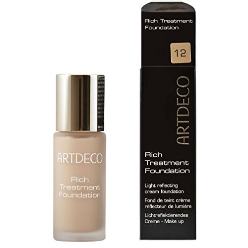 Artdeco Make-Up femme/woman, Rich Treatment Foundation Nummer 12 Vanilla rose, 1er Pack (1 x 20 ml) (Womens 12)