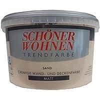 SCHÖNER WOHNEN FARBE Trendfarbe »sand«, matt 5 l, sand