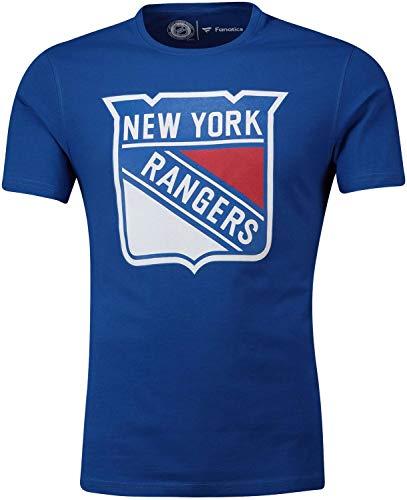 Fanatics - NHL New York Rangers Primary Core Graphic T-Shirt - Blau Größe L, Farbe Blau -