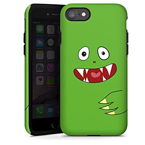 Apple iPhone X Silikon Hülle Case Schutzhülle Monster Kids Kinder Tough Case glänzend