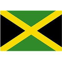 Gran Bandera de Jamaica 150 x 90 cm Satén Durobol Flag