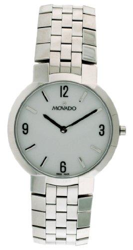 Movado Faceto orologio da uomo 0605565cinturino orologio da polso)