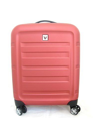 trolley Ronacto Passenger - light - policarbonato - 4 ruote - chiusura tsa - rosso
