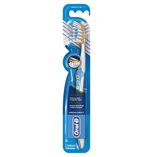 Oral-B Pro-Expert Premium Pro-Flex Handzahnbürste, 40 mittel, 4er Pack (4 X 1 Stück)