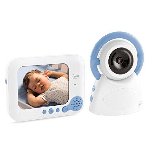 Chicco Baby Monitor Top Deluxe - Vigilabebés con cámara video, con visión nocturna