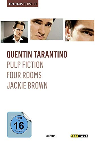 Bild von Quentin Tarantino Arthaus Close-Up ( Pulp Fiction / Four Rooms / Jackie Brown ) [3 DVDs]