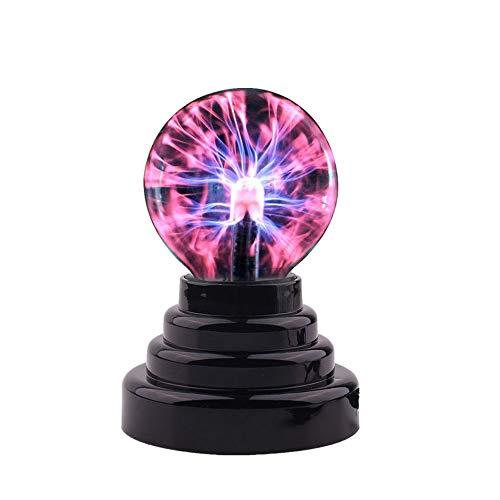 Magische Plasmakugel Mini Leucht Tragbare Ball Elektrostatische Kugel Berührungsempfindliche Blitzkugel, Blinkende Pädagogisches Spielzeug Physik Blitzlicht Plasmalampe Sphäre Lichteffekte