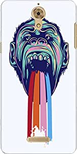 The Racoon Lean printed designer hard back mobile phone case cover for Coolpad Mega 2.5D. (Tripping C)