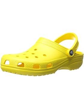 crocs Classic, Unisex - Erwachsene Clogs, Gelb (Lemon), 41-42 EU