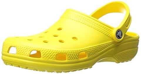 Crocs Classic, Unisex-Erwachsene Clogs, Grün (Lemon), 48/49 EU ( US: M13) (Bewertung Wasser)