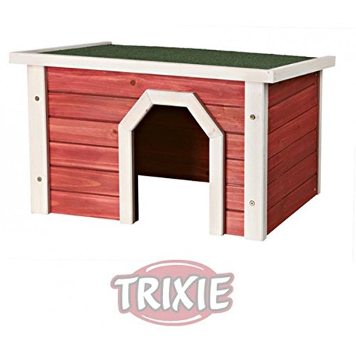 Trixie 62395 natura Kleintierhaus, 40 × 20 × 28 cm, braun