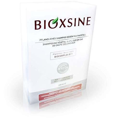 Bioxsine pflanzliches Shampoo gegen Haarausfall für fettiges Haar 300 ml