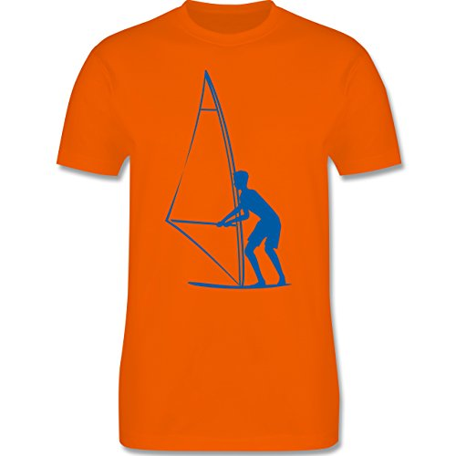 Wassersport - Surfer - Herren Premium T-Shirt Orange