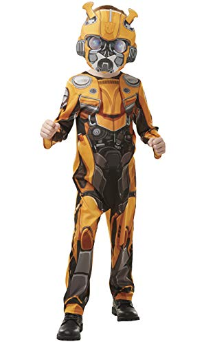 Transformers Kostüm - Rubie's Offizielles Transformers Bumblebee The Movie Kostüm Hummelfigur