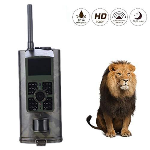 HAOHOAWU Wildlife Trail-Kamera-Falle, Jagdkamera 20MP 1080P Mit Infrarot-Nachtsicht Bis Zu 20 M Für Natur Im Freien, Garten, Sicherheit Zu Hause Überwachung Infrarot-trail-kameras