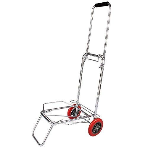VDNSI Two Wheel Foldable Luggage Cart Trolley