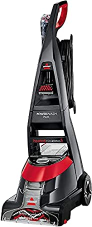 Bissell Black and Red Upright Deep Carpet Cleaner 800W - 2009K