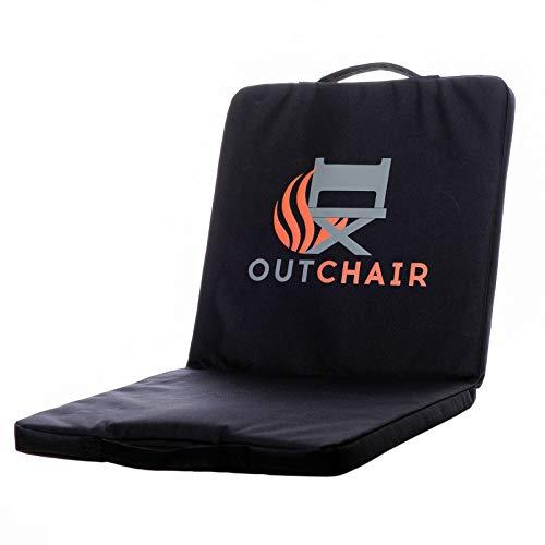 OUTCHAIR Stadium Seat beheizte Campingstuhl-Sitzauflage