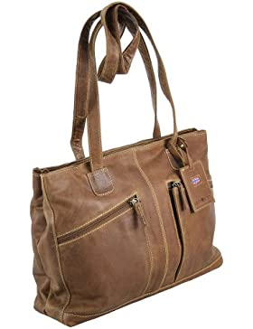 Greenburry Expedition Shopper Leder 40 cm Laptopfach