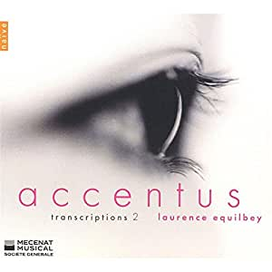 Transcriptions 2 (oeuvres de Bach, Corbel, Debussy, Mahler...)