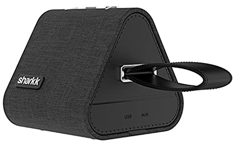 Sharkk Watson 5W Denim-Lautsprecher mit Bluetooth 4.2 Technologie. 500mAh Batterie-Kapazität.