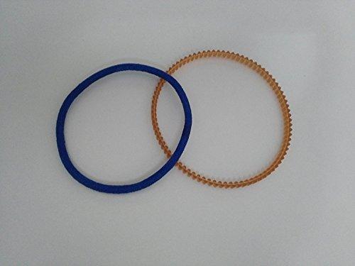 2 Correas para motor exterior de maquinas de coser domesticas y semiindustriales