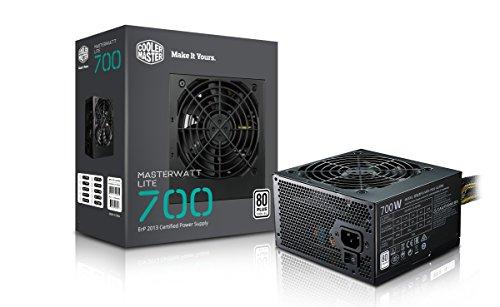 Cooler Master MasterWatt Lite 700 230V Alimentatore  \'Non-Modulare, 80 Plus White, 700W\' MPX-7001-ACABW-EU