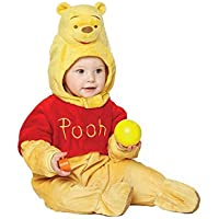 Disney Baby Winnie The Pooh Plush All-in-One Romper with Moulded Head (12-18 Months) by Disney