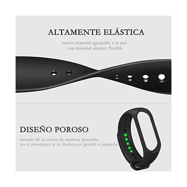 BANGTING 13 PCS Correa Compatible con Pulseras Xiaomi Mi Band 3/4, Correas para Fundas Mi Band 3 Mi Inteligente Band 4 Pulsera Reloj Silicona Banda Reemplazo 5