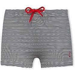 Petit Bateau Baby Boy 0-24 m Monceau Shorts, Blue Abysse/Lait, 18-24 Months