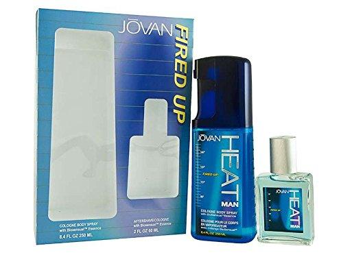 Jovan Heat Fired Up Confezione Regalo 60ml Dopobarba + 250ml EDC Spray Corpo