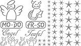 Autoaufkleber Sticker Aufkleber Set für Auto Schriftzug Engel Mo-Do Fr-So Teufe (076 telegrau)