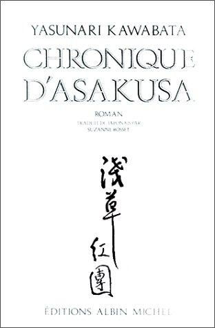 Chronique d'Asakusa par Yasunari Kawabata