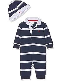 Polo Ralph Lauren Yd Rugby Jersey-Ac-Gbx Gift Box Set, Pelele Unisex Bebé