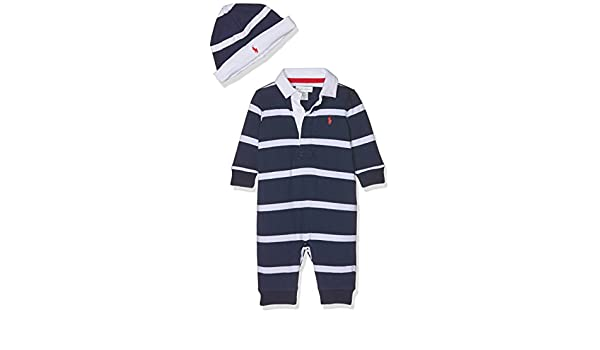 Polo Ralph Lauren YD Rugby Jersey-AC-GBX Gift Box Set, Grenouillère Mixte  bébé, Mehrfarbig (Navy 410), 3 Mois  Amazon.fr  Vêtements et accessoires 96d6f34fdc7