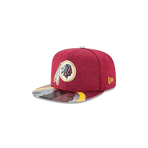 New Era NFL Washington Redskins 2017 Draft On Stage Original Fit 9Fifty Snapback Cap (George Washington Hat)