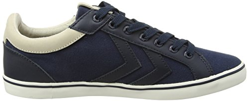 Hummel Deuce Court Premuim, Baskets Mixte Adulte Bleu (Total Eclipse 7364)